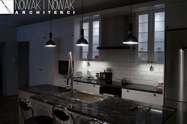 Modern kitchen by Nowak i Nowak Architekci Modern