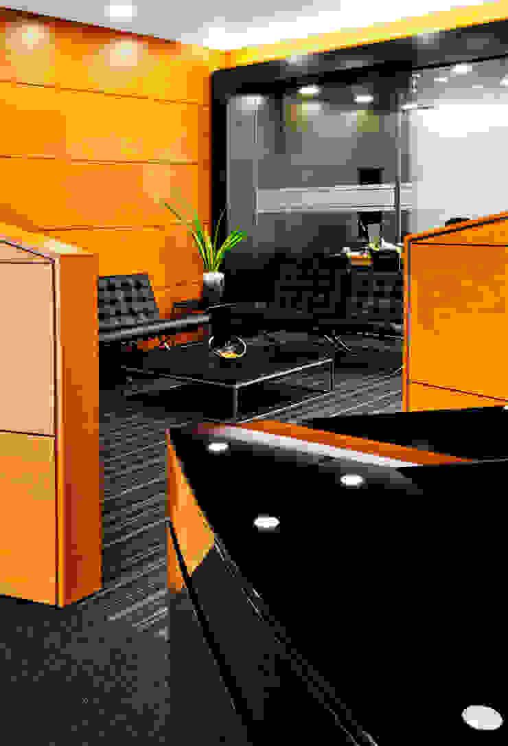 SHOW ROOM MEDELLÍN Estudios y despachos de estilo clásico de FR ARQUITECTURA S.A.S. Clásico