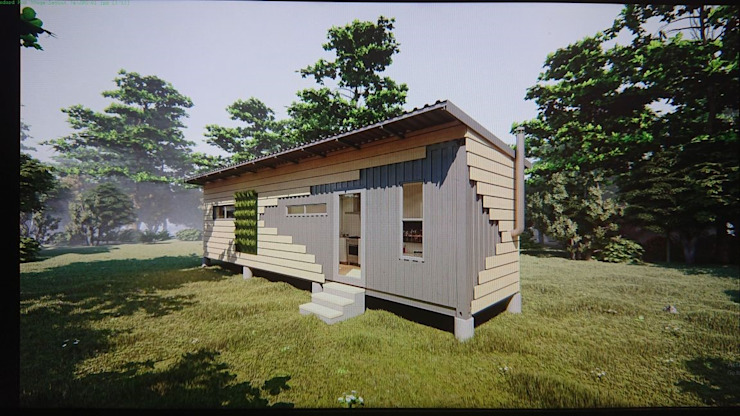 Modular/ Off the Grid Homes for Sale Modern houses by Umnyama Ikhaya Modern