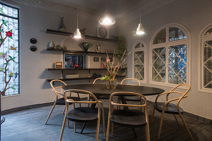 Ruang Makan Modern Oleh Germán Velasco Arquitectos Modern