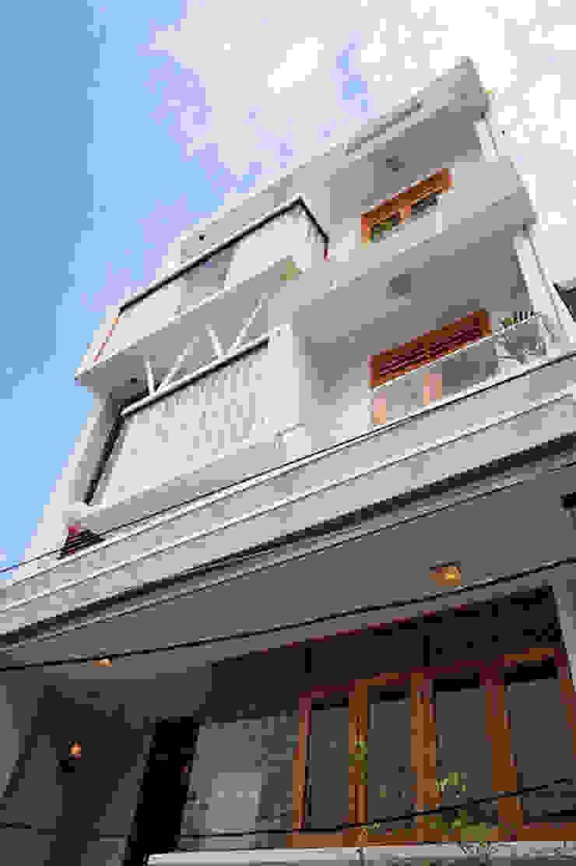 Thông tin về căn nhà phố 5 tầng đẹp bởi Công ty TNHH Xây Dựng TM – DV Song Phát Hiện đại