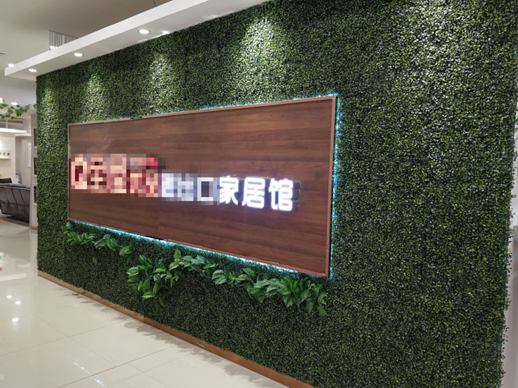 Fantastic Artificial Boxwood Hedge Vertical Garden Wall by Sunwing Industrial Co., Ltd. Country Plastic