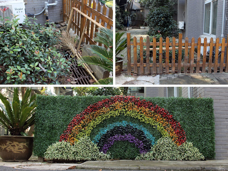 """rainbow"" design by SUNWING artificial plants: tropical  by Sunwing Industrial Co., Ltd.,Tropical Plastic"