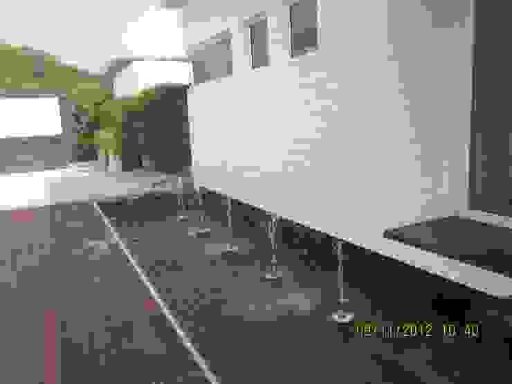 Ireo Sky-On: A Hi-Tech Housing project, Gurgaon, Haryana, India Modern pool by NMP Design Modern