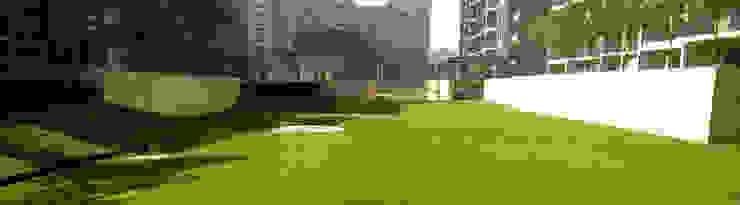 the pitch n putt golf park Modern garden by NMP Design Modern