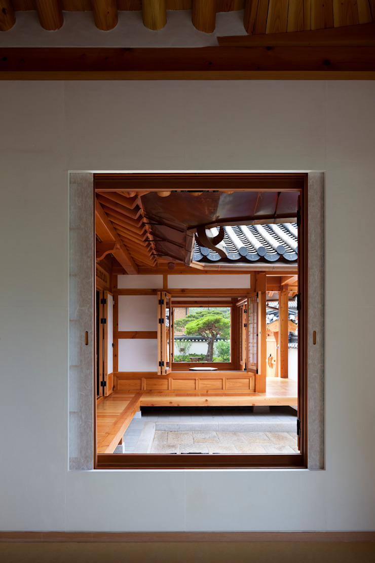 Asian style doors by 모노그래프 Asian