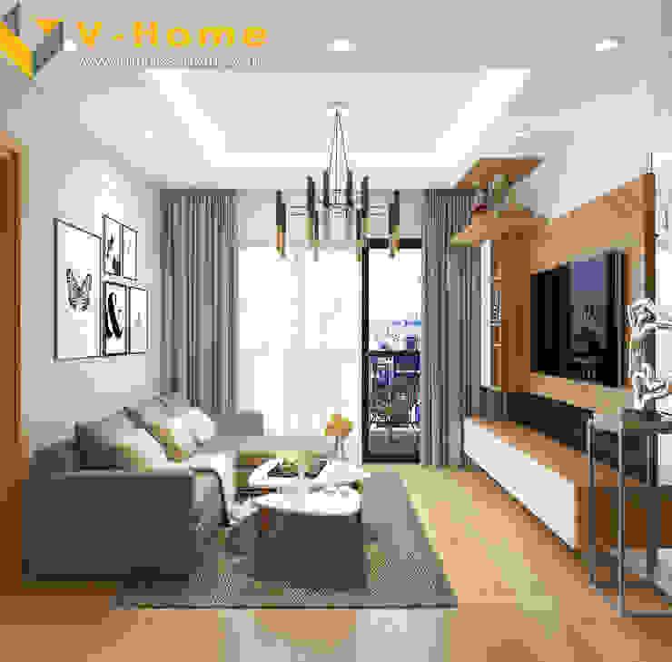 Chung cư Golden Field, Mỹ Đình, Từ Liêm, Hà Nội bởi Công ty CP Kiến trúc V-Home Hiện đại
