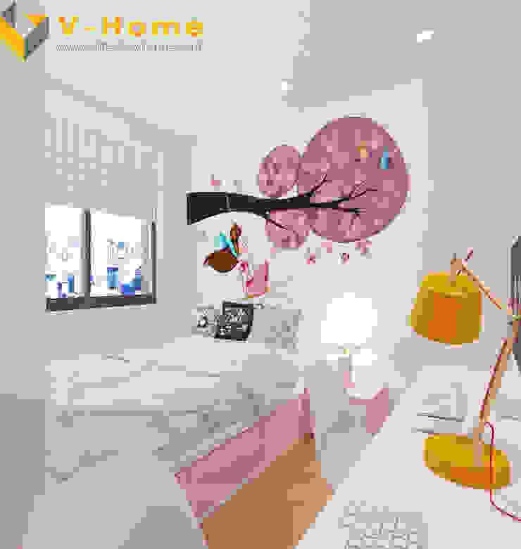 Chung cư Golden Field, Mỹ Đình, Từ Liêm, Hà Nội Phòng trẻ em phong cách hiện đại bởi Công ty CP Kiến trúc V-Home Hiện đại