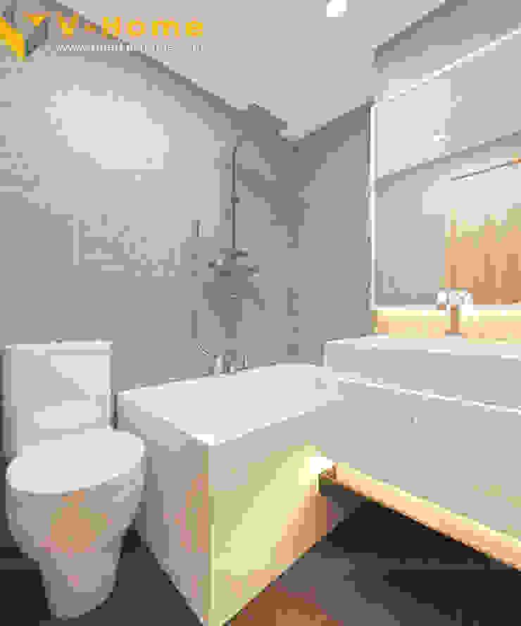 Chung cư Golden Field, Mỹ Đình, Từ Liêm, Hà Nội Phòng tắm phong cách hiện đại bởi Công ty CP Kiến trúc V-Home Hiện đại