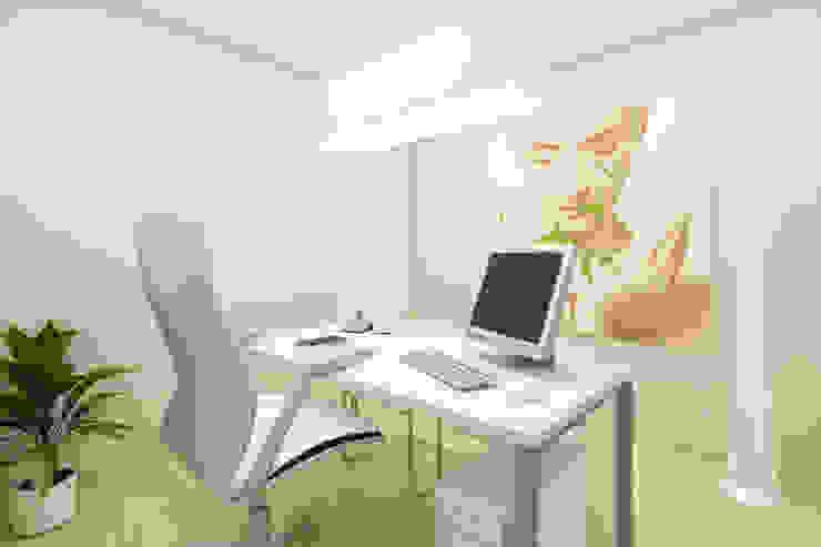 Estudios y bibliotecas de estilo escandinavo de ShiStudio Interior Design Escandinavo