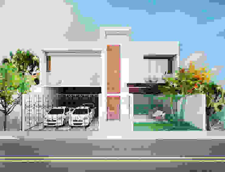 Moderne Häuser von Daniela Andrade Arquitetura Modern