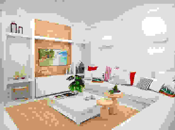 Daniela Andrade Arquitetura Modern Living Room
