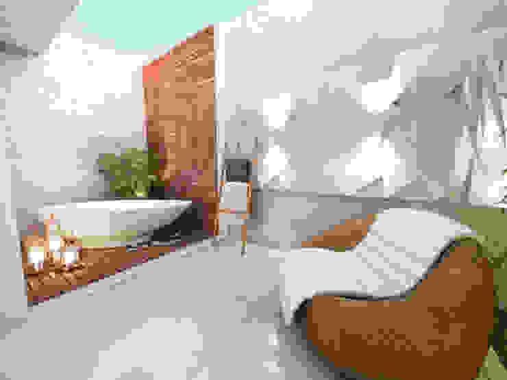 Moderne Badezimmer von Daniela Andrade Arquitetura Modern