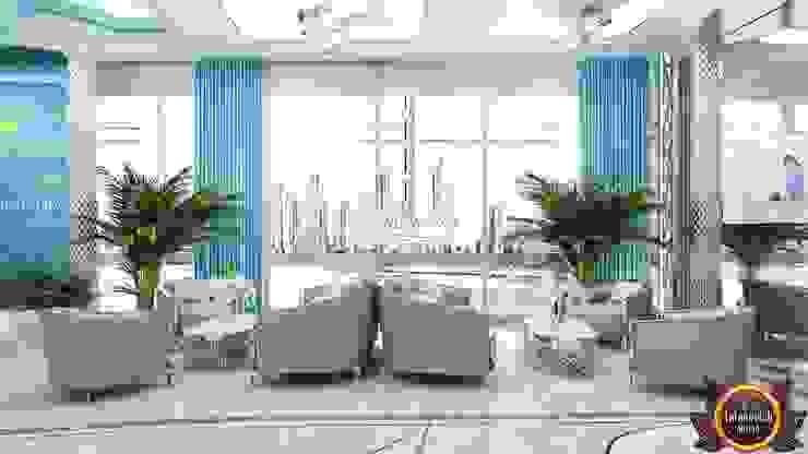 Office design concepts by Katrina Antonovich by Luxury Antonovich Design Modern