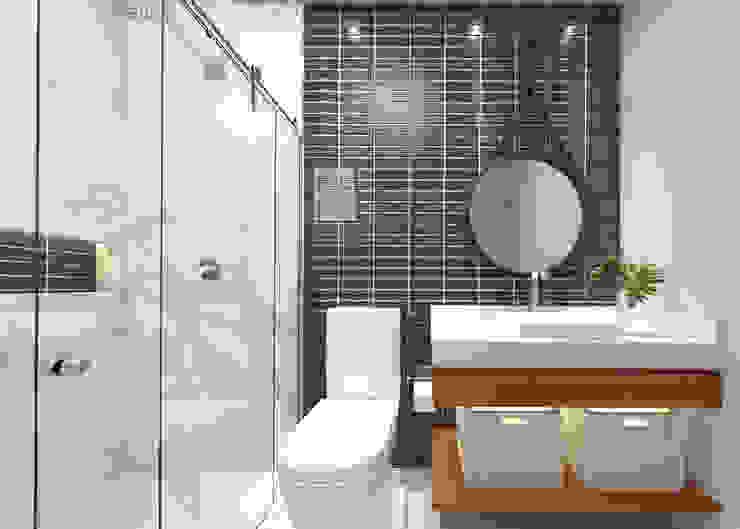 Casa LA Banheiros modernos por Daniela Andrade Arquitetura Moderno