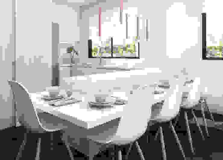 Moderne Küchen von Daniela Andrade Arquitetura Modern