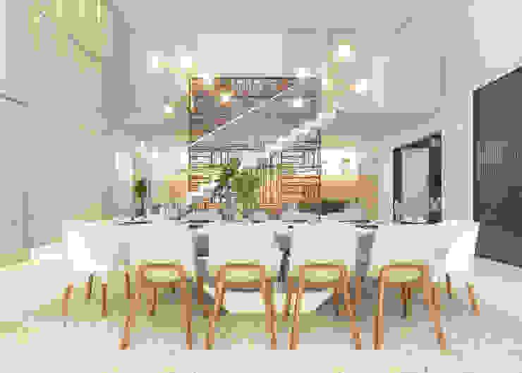 Moderne Wohnzimmer von Daniela Andrade Arquitetura Modern