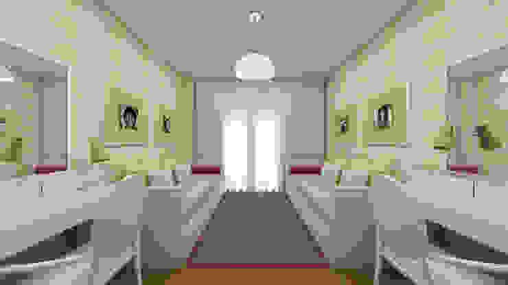 Cuartos de estilo escandinavo de SHI Studio, Sheila Moura Azevedo Interior Design Escandinavo