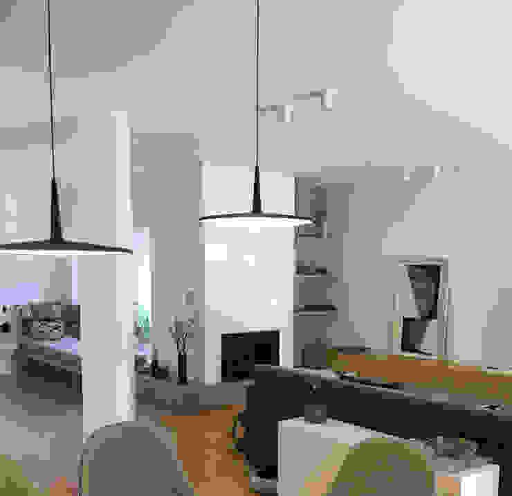 Traços Interiores SalonesIluminación Aluminio/Cinc Negro