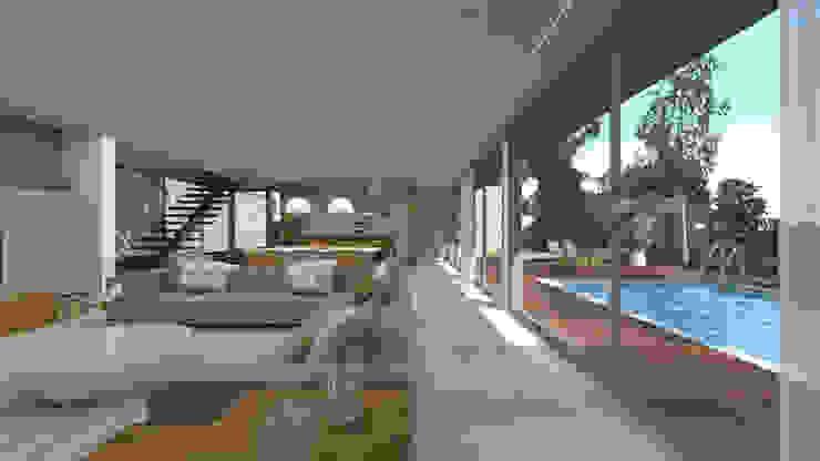 Salas de estilo moderno de SHI Studio, Sheila Moura Azevedo Interior Design Moderno