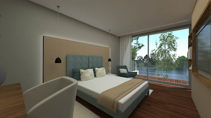 de SHI Studio, Sheila Moura Azevedo Interior Design Minimalista