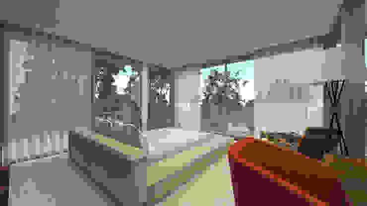 Cuartos de estilo moderno de SHI Studio, Sheila Moura Azevedo Interior Design Moderno