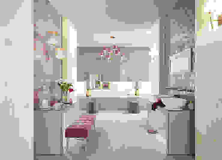 حمام تنفيذ Love Tiles , صناعي