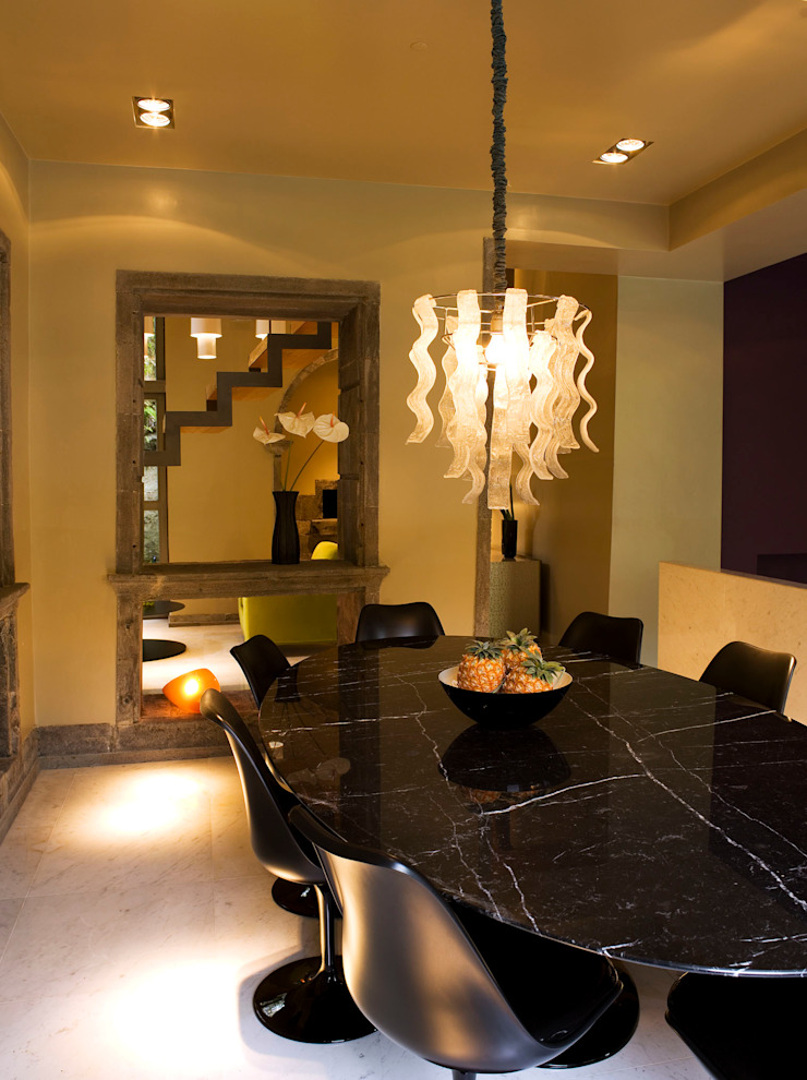 CASA DAS CALDEIRAS / AÇORES Salas de jantar industriais por Carlos Mota- Arquitetura, Interiores e Design Industrial