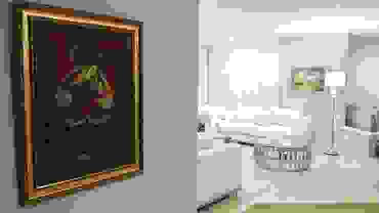 Modern living room by ANDRES FELIPE YANET - ESTUDIO DE DISEÑO Modern