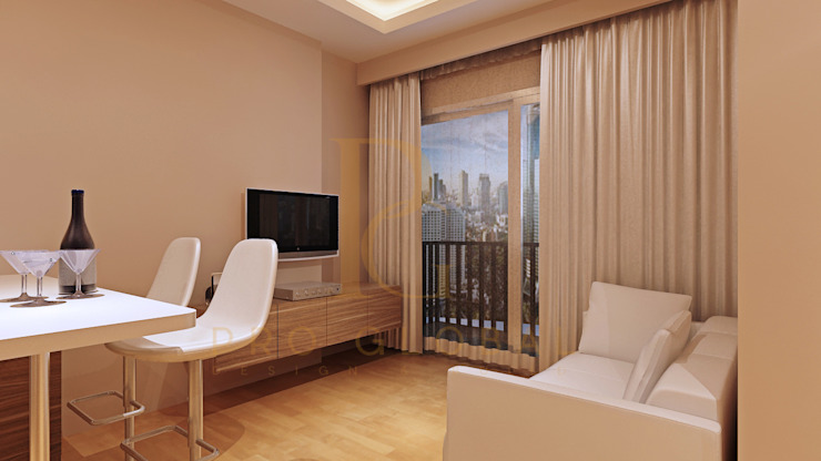 Living Room:   by Pro Global Interior