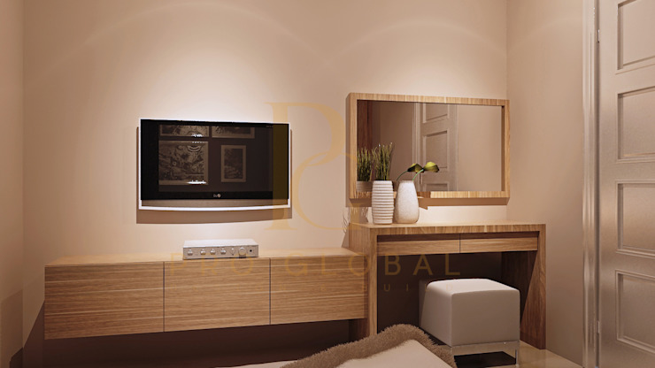 Cabinet TV & Meja Rias:   by Pro Global Interior