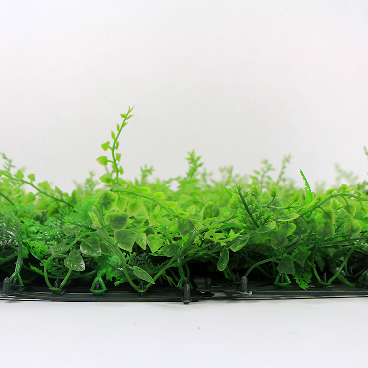 SUNWING Artificial Green Wall Panel G0602A038 For Frontstore Decor by Sunwing Industrial Co., Ltd. Tropical Plastic