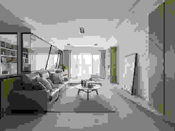 Salas de estilo  por 存果空間設計有限公司