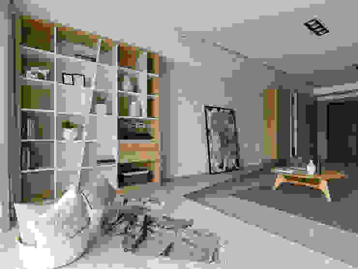 電視牆 根據 存果空間設計有限公司 北歐風