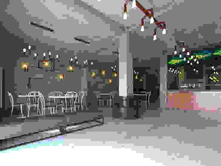 Interior Restaurant Pempek Oleh Roemah Cantik