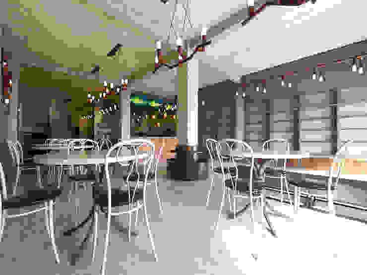 Interior Restaurant Pempek Palembang Oleh Roemah Cantik