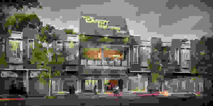 Exterior Design Restaurant Pempek Palembang Oleh Roemah Cantik