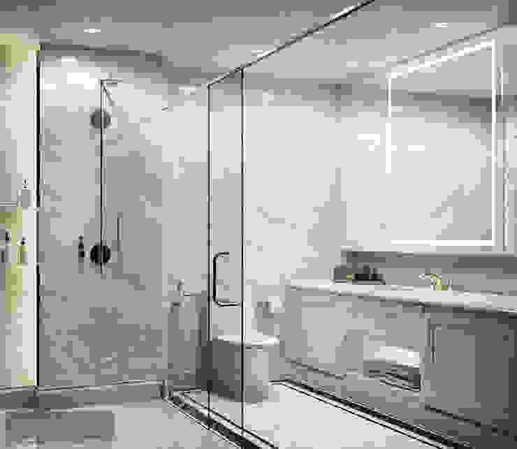Master Bathroom โดย Charrette Studio Co., Ltd. คลาสสิค