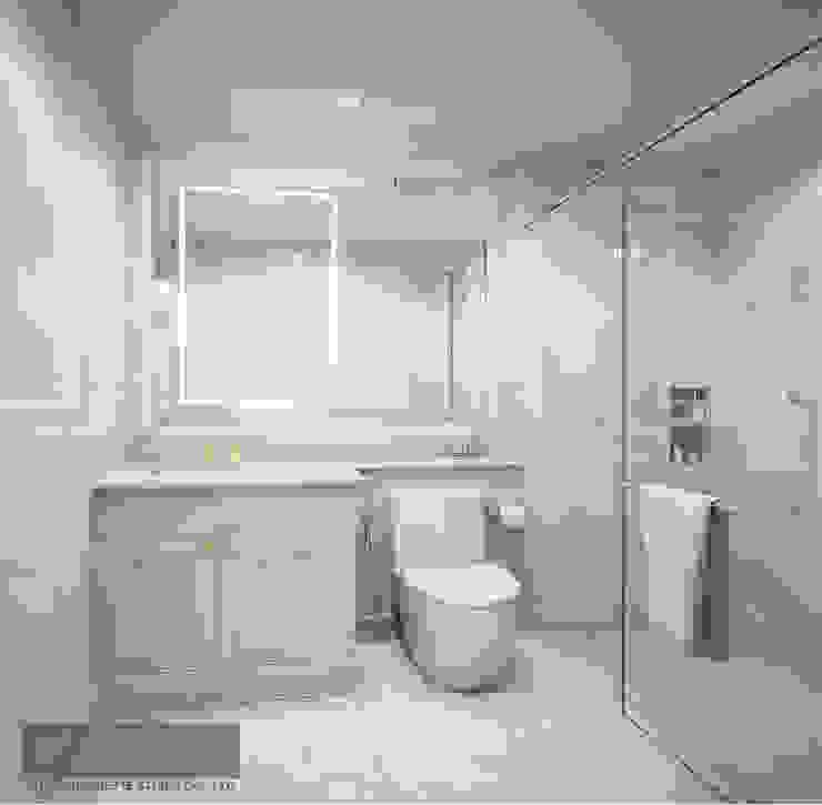 Bathroom 2 โดย Charrette Studio Co., Ltd. คลาสสิค