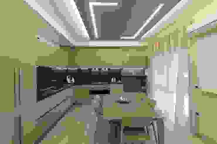 Poche modifiche, grandi cambiamenti! Sala da pranzo moderna di Studio di Progettazione e Design 'ARCHITÈ' Moderno