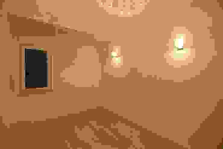 김해시 중목구조 주택 모던스타일 미디어 룸 by 블루하우스 코리아 모던