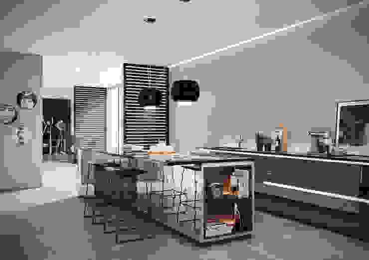 Essentia Love Tiles Cozinhas industriais