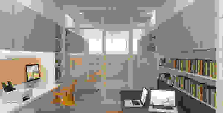 Interior Kantor Dekanat Fakultas Ilmu Budaya Universitas Indonesia Oleh Studio Slenpan
