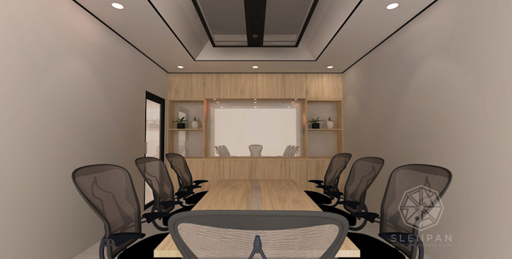 Reception & Meeting Area Office Olympindo by Studio Slenpan
