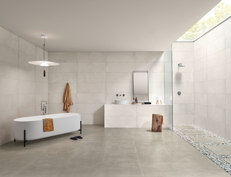 Core Industrial style bathroom by Love Tiles Industrial