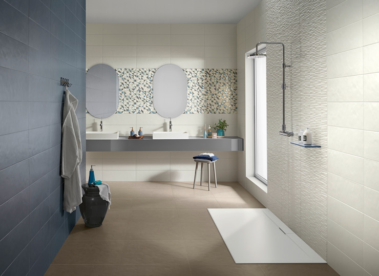 Splash Industriale Badezimmer von Love Tiles Industrial