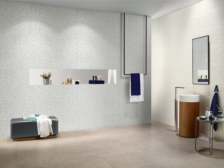 Splash Industrial style bathroom by Love Tiles Industrial