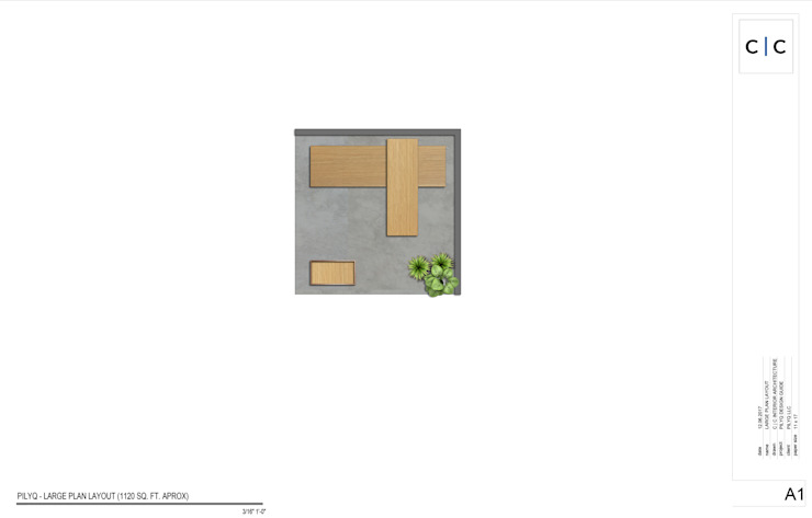 PILYQ DESIGN GUIDE | Espacio Small de C | C INTERIOR ARCHITECTURE Moderno