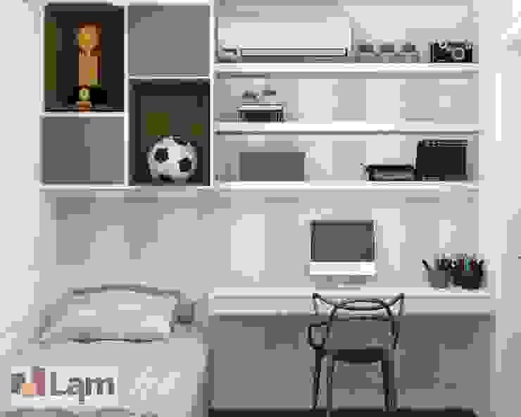 Cuartos de estilo moderno de LAM Arquitetura | Interiores Moderno