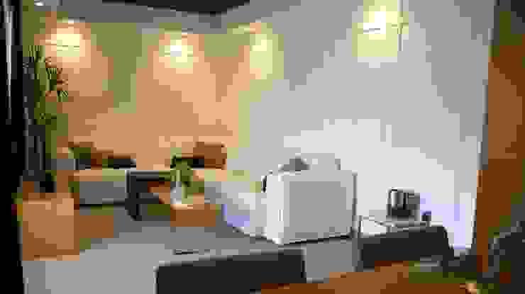 Ático en el Aljarafe sevillano ARTEFACTUM Salones de estilo moderno